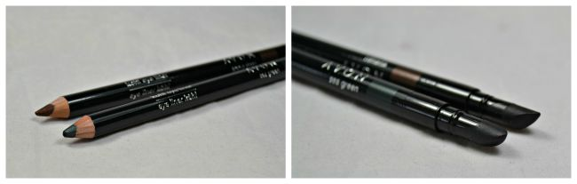 Avon Kohl Eye Liner - Bronze Sheen & Sea Green