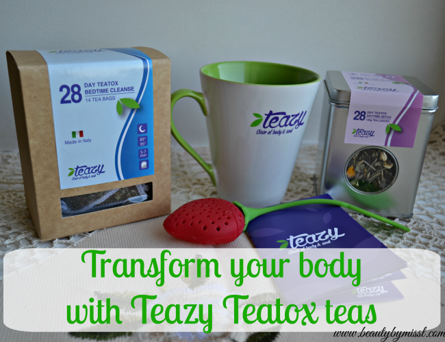 Transform your body with Teazy Teatox teas