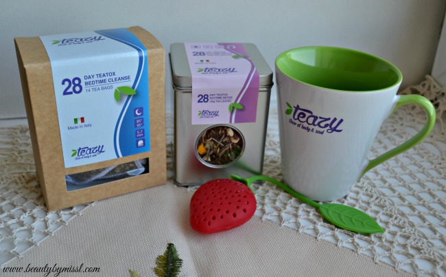 Teazy 28 day package