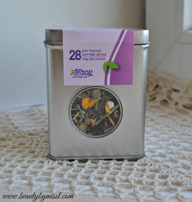 Teazy 28 Day Teatox - daytime detox