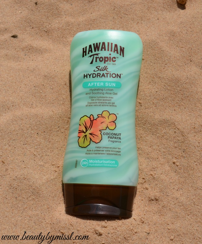 Hawaiian Tropic Silk Hydration After Sun lotion