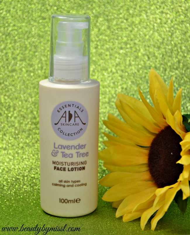 AA Skincare Lavender & Tea Tree Moisturising Face Lotion