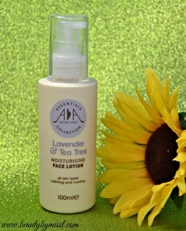 AA Skincare Lavender & Tea Tree Moisturising Face Lotion
