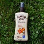 Hawaiian Tropic Satin Protection Sun Spray Lotion SPF 15 review