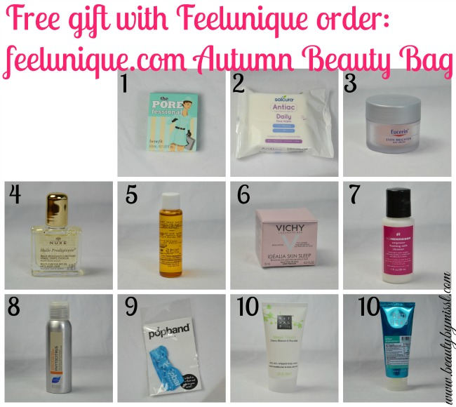 feelunique.com Exclusive Autumn Beauty Bag