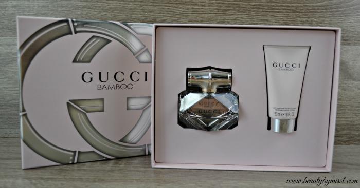 Gucci Bamboo Gift Set giveaway