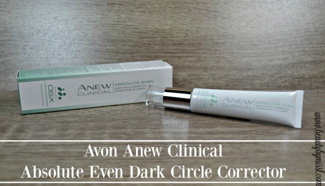Avon Anew Clinical Absolute Even Dark Circle Corrector review