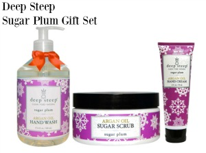 Deep Steep Sugar Plum Gift Set