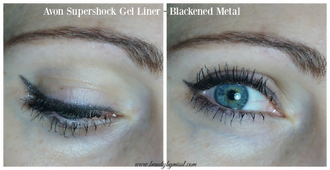 Avon Supershock Gel Liner - Blackened Metal