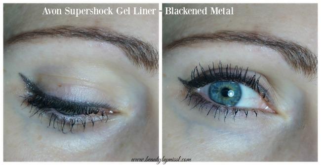 Avon Supershock Gel Liner - Blackened Metal