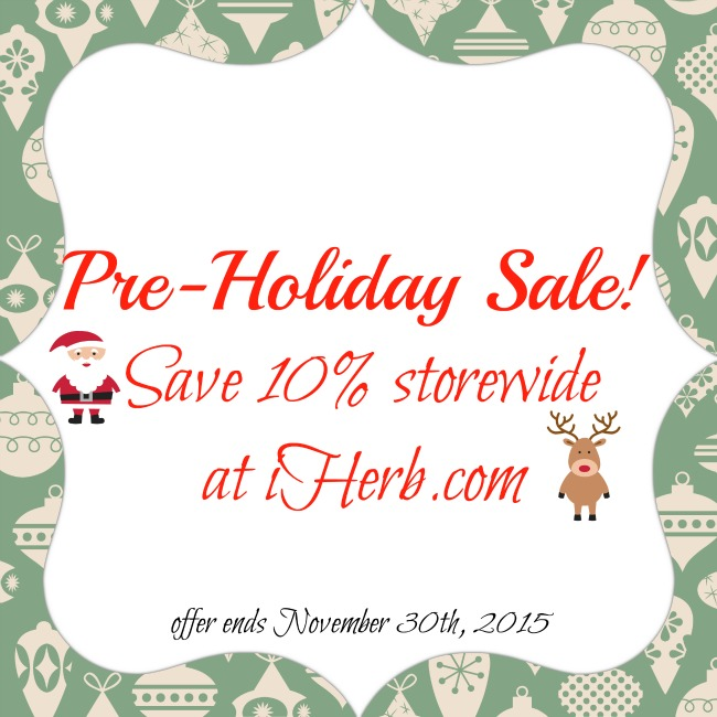 10% off storewide at iHerb & Christmas gift ideas