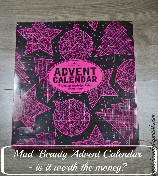 Mad Beauty Advent Calendar - is it worth the money