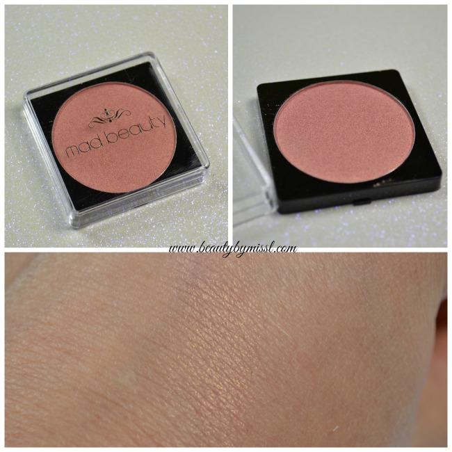 MAd Beauty blush swatch