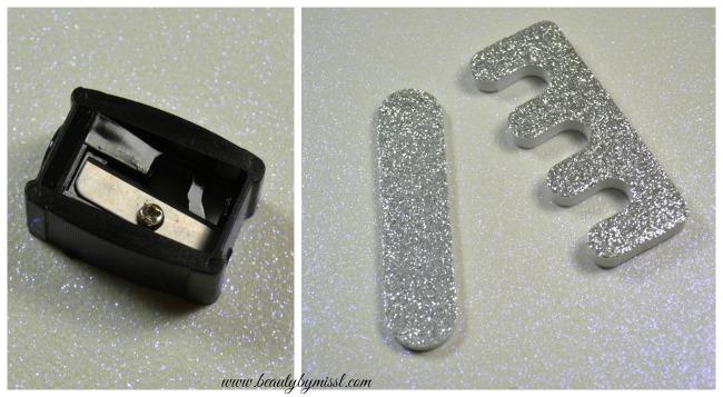 Mad Beauty Sharpener, nail file and toe separator