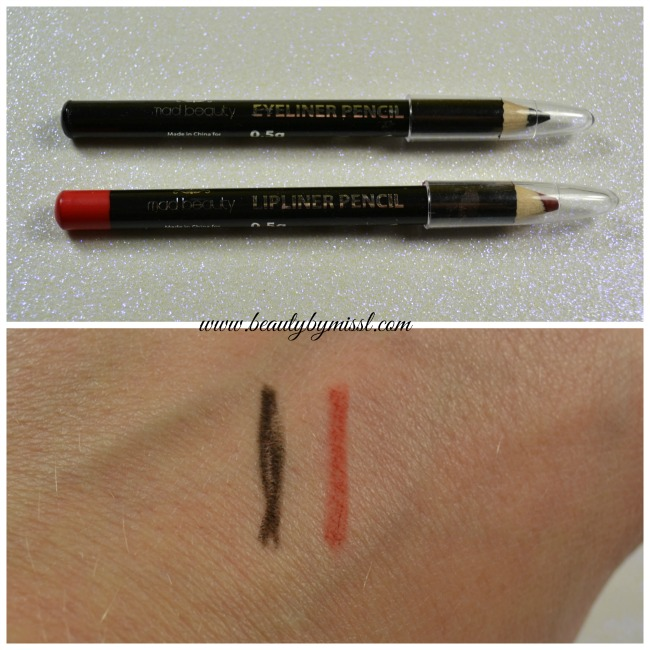 Mad Beauty Lip Liner and Eyeliner Pencil