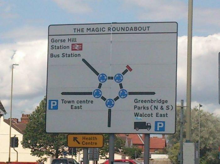 Swindon Magic roundabout