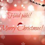 Merry Christmas! Häid pühi!