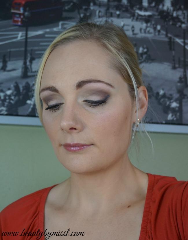Makeup look with bareMinerals Enchanted Garden palette