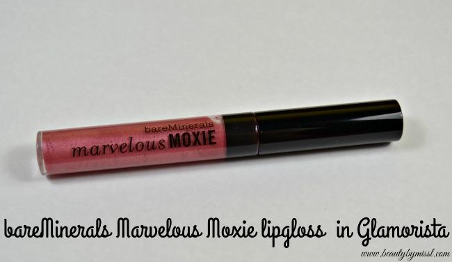 bareMinerals Marvelous Moxie lipgloss in Glamorista
