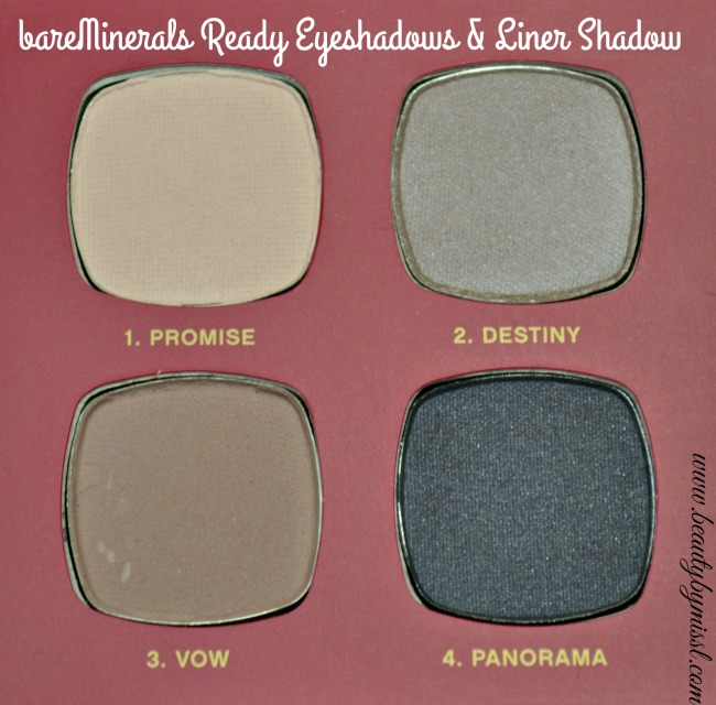 bareMinerals Ready Eyeshadows and Liner Shadow