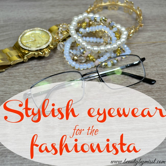 Stylish eyewear for the fashionista