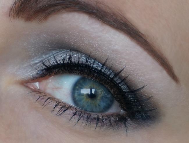 wearing fake lashes