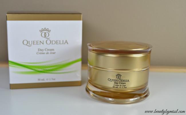 Queen Odelia Day Cream review