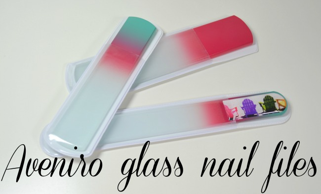 Aveniro glass nail files