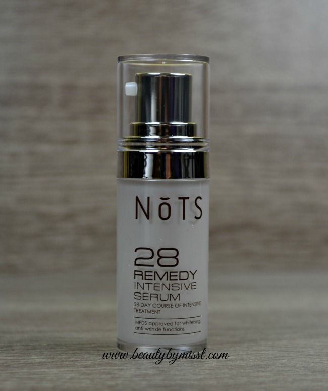 NoTS 28 Remedy Intensive Serum