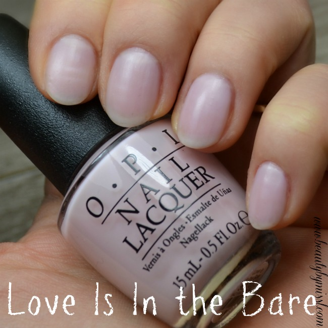 OPI Love Is In the Bare