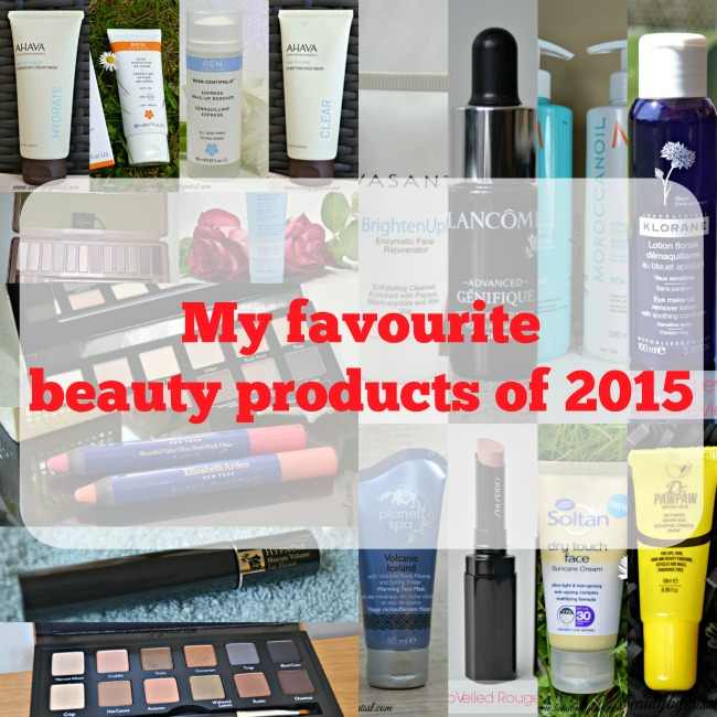 My favourite beauty products of 2015