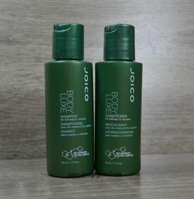 Joico Body Luxe shampoo & conditioner