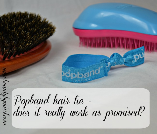 Popband London hair tie - is hit or miss?