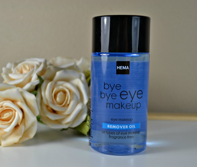 HEMA Bye Bye Eye Makeup Remover Oil