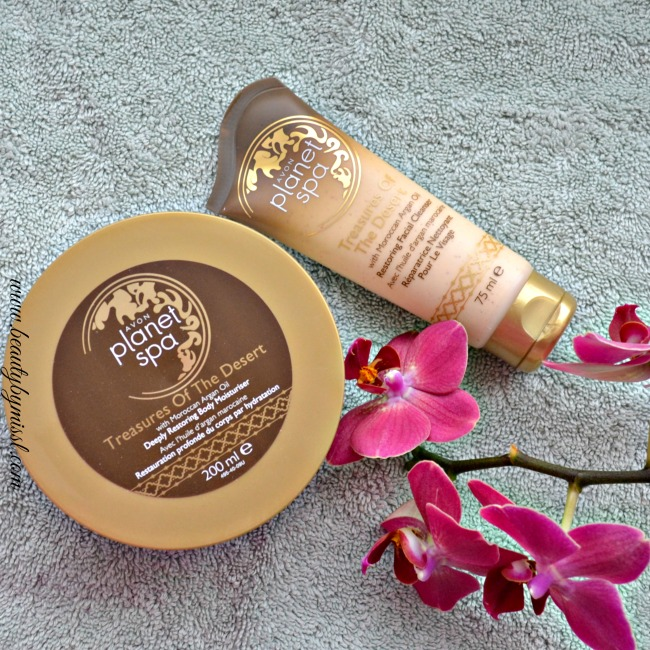 Avon Treasures Of The Desert Restoring Facial Cleanser & Deeply Restoring Body MoisturiserAvon Treasures Of The Desert Restoring Facial Cleanser & Deeply Restoring Body Moisturiser