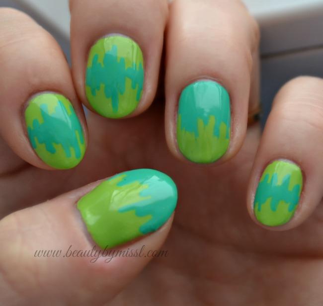 7 days of St. Patricks Day Nail Art