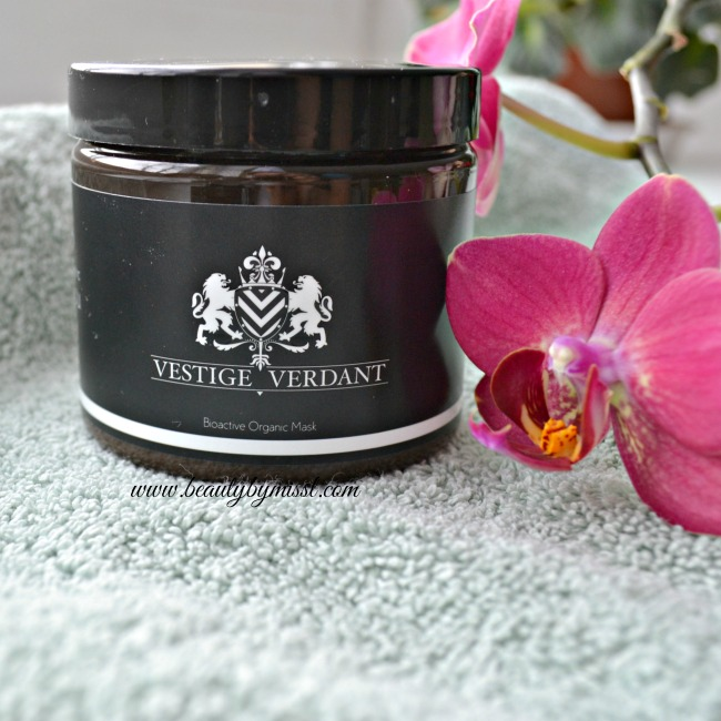 Luxurious Vestige Verdant Organic Mask
