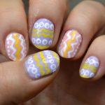 Easter themed nail art