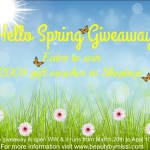 Hello Spring Giveaway - enter to win 200$ gift voucher to Shopbop!