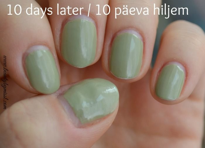 Does Zoya Color Lock system work_10 days later