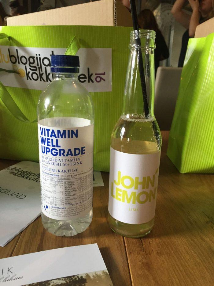 Ilublogijate kokkutulek Vitamin Well John Lemon