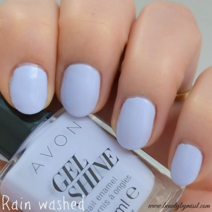Avon Gel Shine - Rain washed