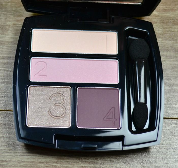 Avon True Colour eyeshadow quad Berry Love