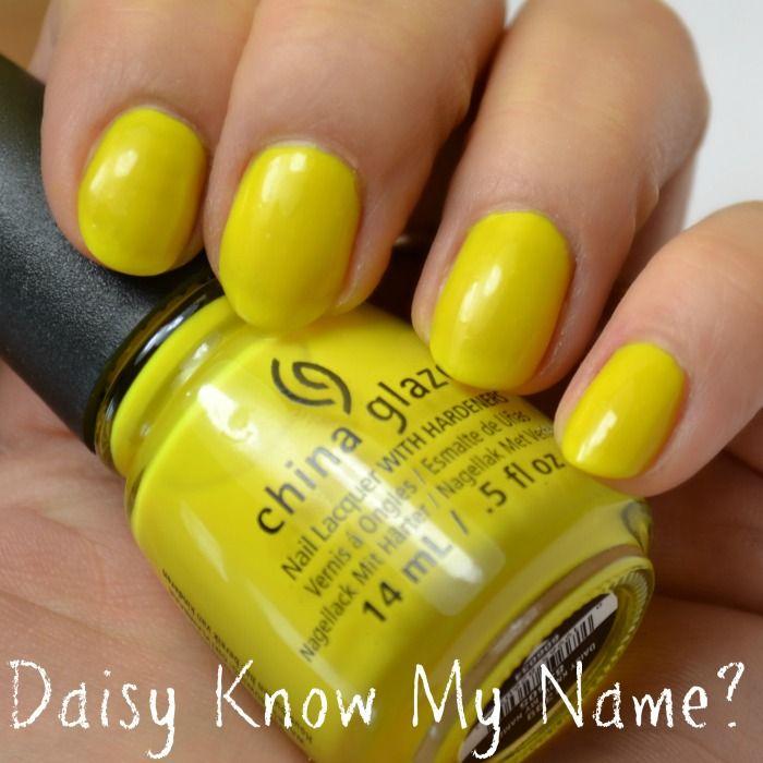China Glaze Daisy Know My Name