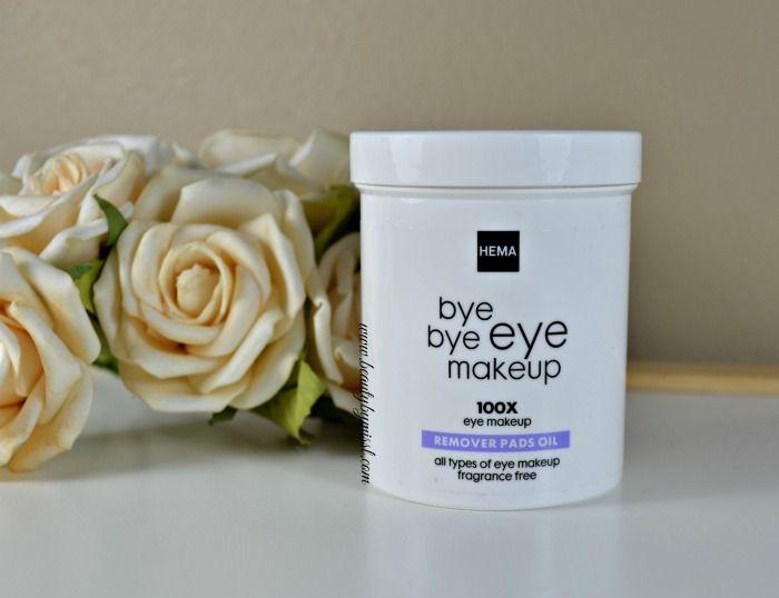 HEMA Bye Bye Bye makeup remover pads