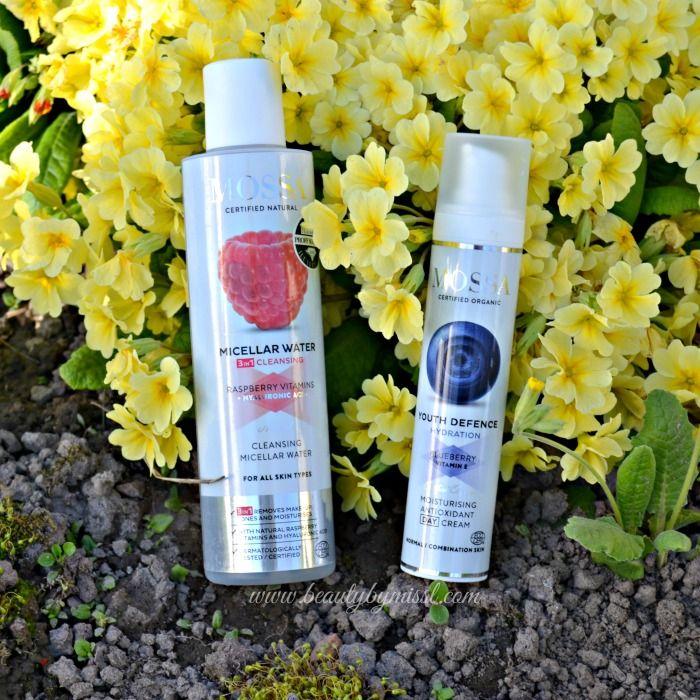 My new HG products – Mossa Micellar Water and Youth Defence Moisturising Antioxidant Day Cream