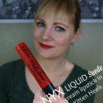 NYX Liquid Suede cream lipstick - Kitten Heels