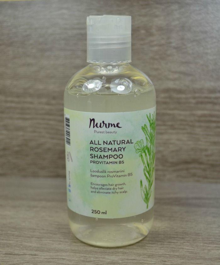 Nurme looduslik rosmariini šampoon