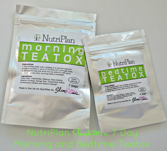 NutriPlan SlimKitten 7 Day Morning and Bedtime Teatox