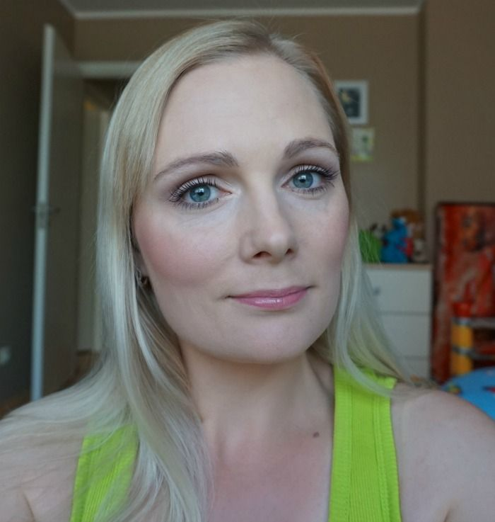 casual daytime makeup look